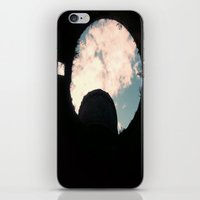 castle in the sky iPhone & iPod Skins featuring Sky Castle  by Ambers Vintage Find