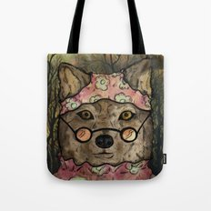 Abueloba (Granny-wolf) Tote Bag