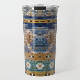 Lion Mosaic Travel Mug