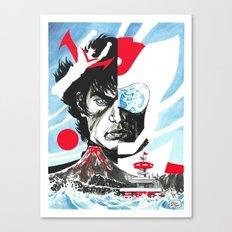 Great Mazinga Robot Tetsuya Canvas Print