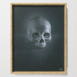 Skull Still life Serving Tray