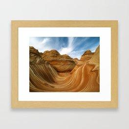 The Wave-Paria Wilderness Framed Art Print