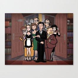 It's a Clue! Canvas Print
