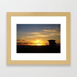 The Hoff Framed Art Print