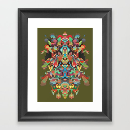 Your Dæmon Framed Art Print
