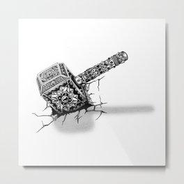 Hammer of Thor Metal Print