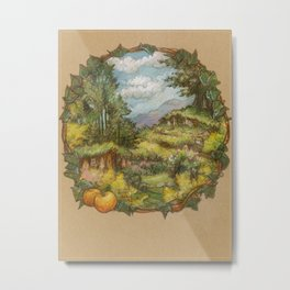 September in the Shires Metal Print