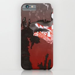 Scary Valley iPhone Case