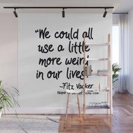 Fan-favorite Fitz Quote Wall Mural