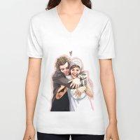 "karu kara V-neck T-shirts featuring "" Boyfs""  by Karu Kara"