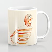 mom Mugs featuring Mom by Danelys Sidron