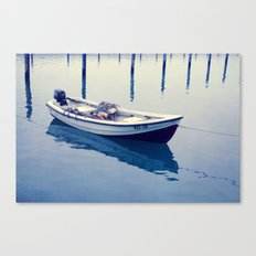 silence on water Canvas Print