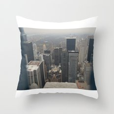 Skyline in Perspective Throw Pillow