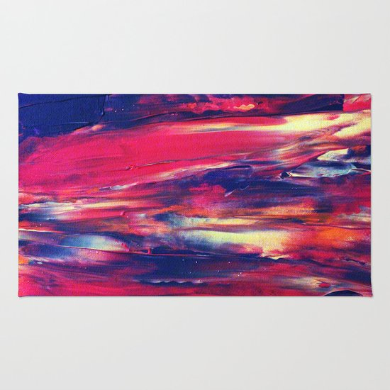 Abstract Painting 24 Rug