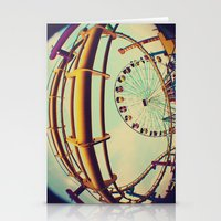 santa monica Stationery Cards featuring Santa Monica by Nikole Lynn Photography