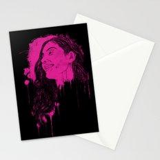 Black Pink Pop Stationery Cards