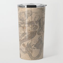 Burritt - Huntington Map of the Constellations or Stars in April, May and June (1856) Travel Mug