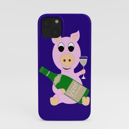 Happy New Year 2019 Year Of The Pig Gift iPhone Case
