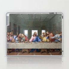 The Last Supper by Leonardo da Vinci Laptop & iPad Skin