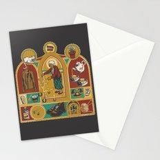 Ye Oldé Grandma Triptych Stationery Cards