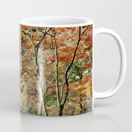 Autumn Trees in Minoo, Japan Coffee Mug