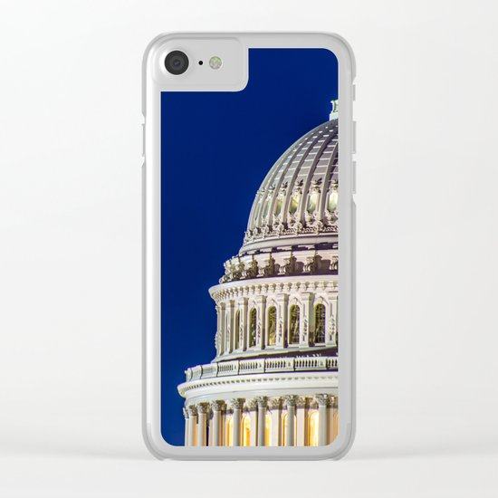 The Rotunda Clear iPhone Case