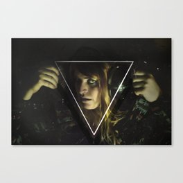 Spellcaster and Her Umbrawave Canvas Print