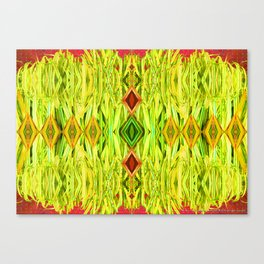 Tiki Hut Canvas Print