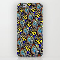 scales iPhone & iPod Skins featuring Scales by David  Gough