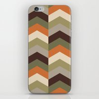 safari iPhone & iPod Skins featuring Safari by Okopipi Design