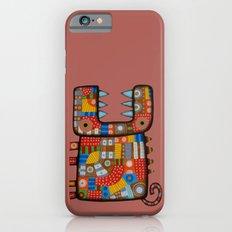 Dog hippo iPhone 6 Slim Case