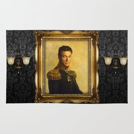 Jean Claude Van Damme - replaceface Rug