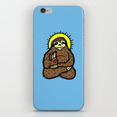 Buddha Sloth iPhone Skin