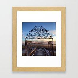 enter here Framed Art Print