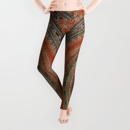 Earth Tone Colored Mandala Leggings