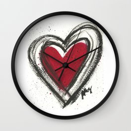 Your Heart is your Best Secret Wall Clock