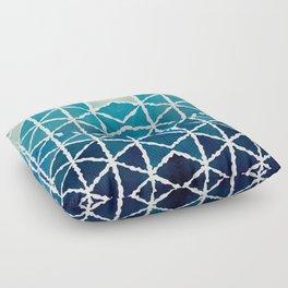 Shades of blue Floor Pillow