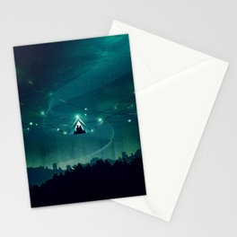 Wireless Camping Stationery Cards