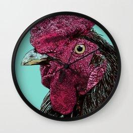 Rooster III Wall Clock