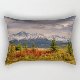 Seasons Turning Rectangular Pillow