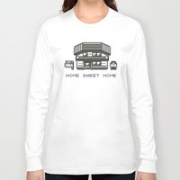 home sweet home Long Sleeve T-shirts featuring Home Sweet Home  by Zeke Tucker