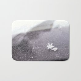 perfect snowflakes Bath Mat