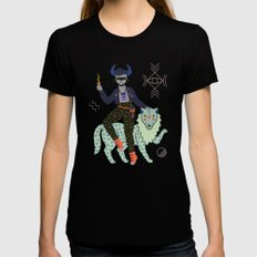 Witch Series: Demon Black MEDIUM Womens Fitted Tee