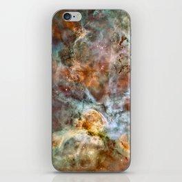 Carina Nebula, Star Birth in the Extreme - High Quality Image iPhone Skin