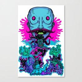 Mega Face Master Canvas Print