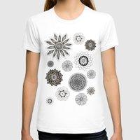 flower pattern T-shirts featuring Flower pattern by Noah's ART
