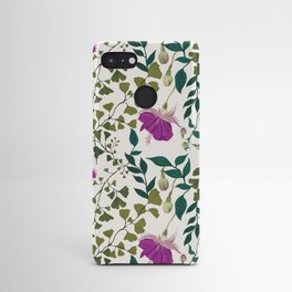 Fuchsia and Ferns Android Case