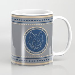 Wolf Seal (preppy collection) Coffee Mug