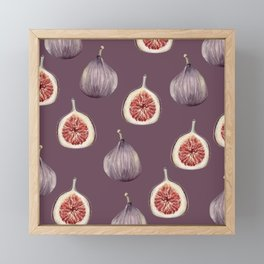 Figs 2  #society6 #buyart Framed Mini Art Print