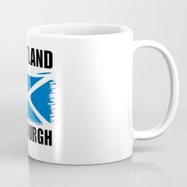 Scotland Edinburgh Flag Coffee Mug